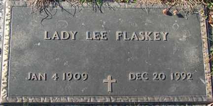 FLASKEY, LADY LEE - Minnehaha County, South Dakota | LADY LEE FLASKEY - South Dakota Gravestone Photos