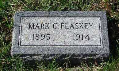 FLASKEY, MARK C. - Minnehaha County, South Dakota | MARK C. FLASKEY - South Dakota Gravestone Photos