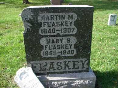 FLASKEY, MARTIN M. - Minnehaha County, South Dakota | MARTIN M. FLASKEY - South Dakota Gravestone Photos