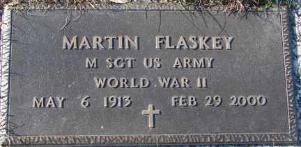 FLASKEY, MARTIN (WWII) - Minnehaha County, South Dakota | MARTIN (WWII) FLASKEY - South Dakota Gravestone Photos