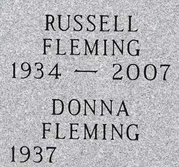 FLEMING, RUSSELL - Minnehaha County, South Dakota   RUSSELL FLEMING - South Dakota Gravestone Photos