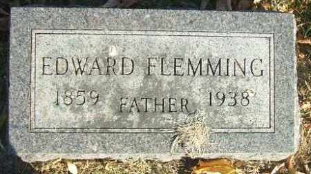 FLEMMING, EDWARD - Minnehaha County, South Dakota | EDWARD FLEMMING - South Dakota Gravestone Photos