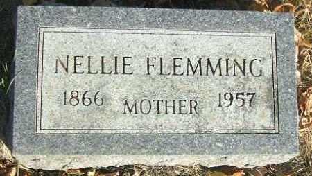 FLEMMING, NELLIE - Minnehaha County, South Dakota | NELLIE FLEMMING - South Dakota Gravestone Photos