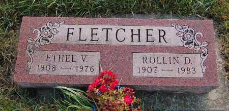 FLETCHER, ROLLIN D. - Minnehaha County, South Dakota | ROLLIN D. FLETCHER - South Dakota Gravestone Photos