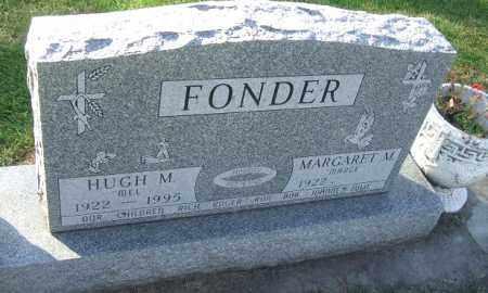 FONDER, HUGH M. - Minnehaha County, South Dakota | HUGH M. FONDER - South Dakota Gravestone Photos