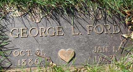 FORD, GEORGE L. - Minnehaha County, South Dakota | GEORGE L. FORD - South Dakota Gravestone Photos