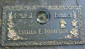 FORRESTER, ESTELLA E. - Minnehaha County, South Dakota | ESTELLA E. FORRESTER - South Dakota Gravestone Photos
