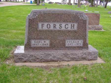 FORSCH, CARL W. - Minnehaha County, South Dakota | CARL W. FORSCH - South Dakota Gravestone Photos