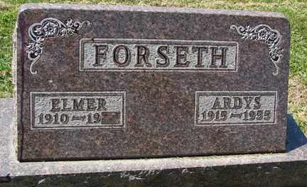 FORSETH, ARDYS - Minnehaha County, South Dakota   ARDYS FORSETH - South Dakota Gravestone Photos