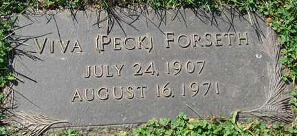 FORSETH, VIVA - Minnehaha County, South Dakota | VIVA FORSETH - South Dakota Gravestone Photos