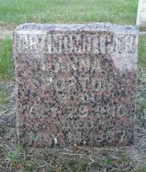 FORTON, ANNA O. - Minnehaha County, South Dakota | ANNA O. FORTON - South Dakota Gravestone Photos