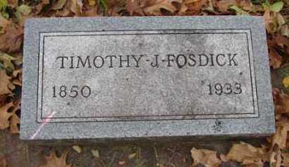FOSDICK, TIMOTHY  J. - Minnehaha County, South Dakota | TIMOTHY  J. FOSDICK - South Dakota Gravestone Photos