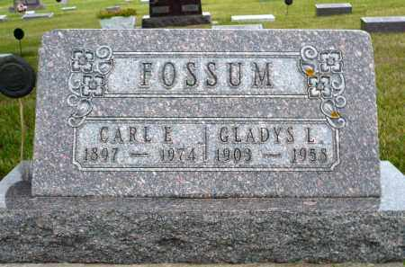 FOSSUM, GLADYS L. - Minnehaha County, South Dakota | GLADYS L. FOSSUM - South Dakota Gravestone Photos