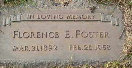 FOSTER, FLORENCE E. - Minnehaha County, South Dakota | FLORENCE E. FOSTER - South Dakota Gravestone Photos