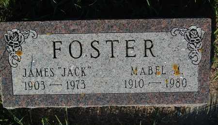 "FOSTER, JAMES ""JACK"" - Minnehaha County, South Dakota | JAMES ""JACK"" FOSTER - South Dakota Gravestone Photos"