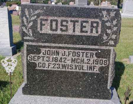 FOSTER, JOHN J. - Minnehaha County, South Dakota | JOHN J. FOSTER - South Dakota Gravestone Photos