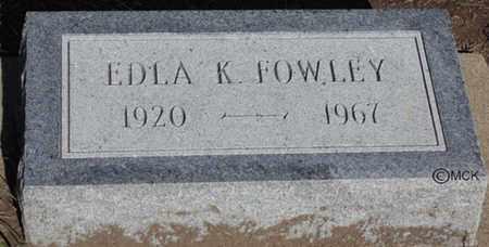 FOWLEY, ELDA KATHERINE - Minnehaha County, South Dakota | ELDA KATHERINE FOWLEY - South Dakota Gravestone Photos