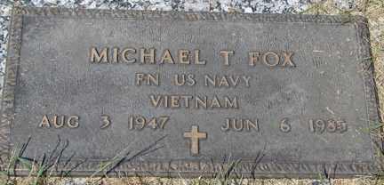 FOX, MICHAEL T. (VIETNAM) - Minnehaha County, South Dakota   MICHAEL T. (VIETNAM) FOX - South Dakota Gravestone Photos
