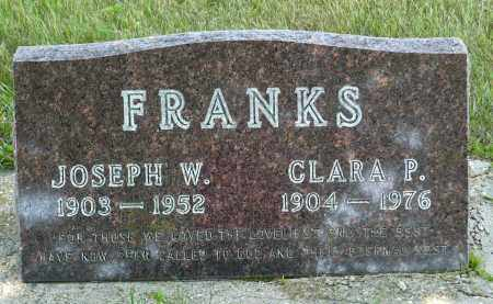 FRANKS, CLARA P. - Minnehaha County, South Dakota | CLARA P. FRANKS - South Dakota Gravestone Photos