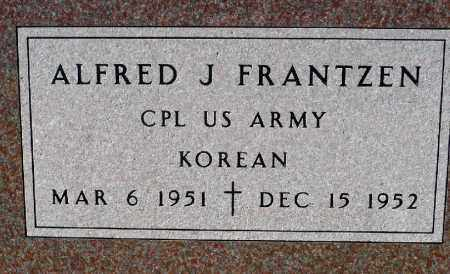 FRANTZEN, ALFRED J. (KOREA) - Minnehaha County, South Dakota | ALFRED J. (KOREA) FRANTZEN - South Dakota Gravestone Photos
