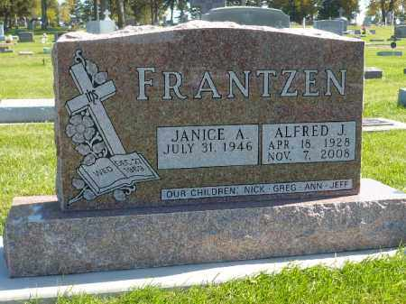 FRANTZEN, ALFRED J. - Minnehaha County, South Dakota | ALFRED J. FRANTZEN - South Dakota Gravestone Photos