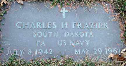 FRAZIER, CHARLES H. - Minnehaha County, South Dakota | CHARLES H. FRAZIER - South Dakota Gravestone Photos
