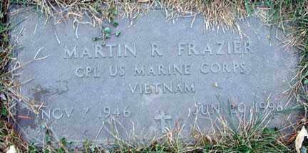 FRAZIER, MARTIN R. (VIETNAM) - Minnehaha County, South Dakota   MARTIN R. (VIETNAM) FRAZIER - South Dakota Gravestone Photos