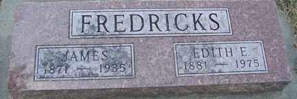 FREDRICKS, JAMES - Minnehaha County, South Dakota | JAMES FREDRICKS - South Dakota Gravestone Photos