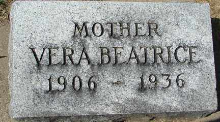 FREDRICKS, VERA BEATRICE - Minnehaha County, South Dakota | VERA BEATRICE FREDRICKS - South Dakota Gravestone Photos