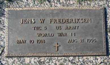 FREDERIKSEN, JENS W. - Minnehaha County, South Dakota | JENS W. FREDERIKSEN - South Dakota Gravestone Photos