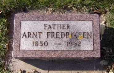 FREDRIKSEN, ARNT - Minnehaha County, South Dakota | ARNT FREDRIKSEN - South Dakota Gravestone Photos
