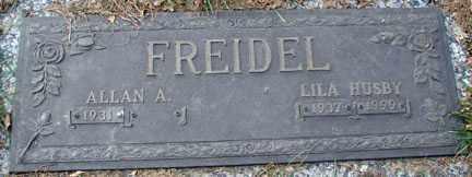 FREIDEL, ALAN A. - Minnehaha County, South Dakota | ALAN A. FREIDEL - South Dakota Gravestone Photos