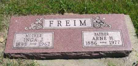 FREIM, ARNE H. - Minnehaha County, South Dakota | ARNE H. FREIM - South Dakota Gravestone Photos