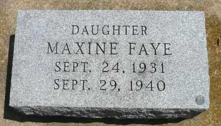 FRESVIK, MAXINE FAYE - Minnehaha County, South Dakota | MAXINE FAYE FRESVIK - South Dakota Gravestone Photos