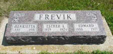FREVIK, EDWARD - Minnehaha County, South Dakota | EDWARD FREVIK - South Dakota Gravestone Photos