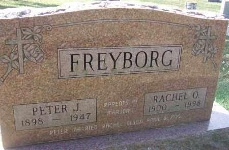 FREYBORG, PETER J. - Minnehaha County, South Dakota   PETER J. FREYBORG - South Dakota Gravestone Photos