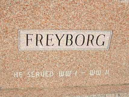 FREYBORG, PETER - Minnehaha County, South Dakota | PETER FREYBORG - South Dakota Gravestone Photos