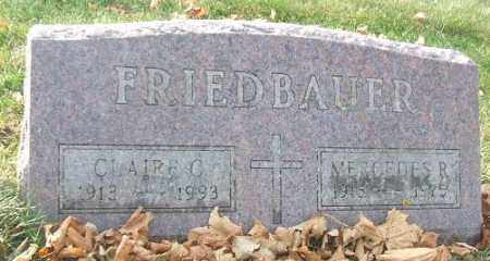 FRIEDBAUER, CLAIRE C. - Minnehaha County, South Dakota | CLAIRE C. FRIEDBAUER - South Dakota Gravestone Photos