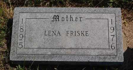 FRISKE, LENA - Minnehaha County, South Dakota | LENA FRISKE - South Dakota Gravestone Photos