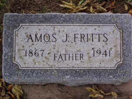 FRITTS, AMOS J. - Minnehaha County, South Dakota | AMOS J. FRITTS - South Dakota Gravestone Photos