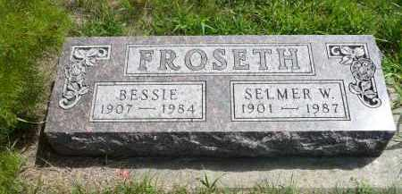 FROSETH, SELMER W. - Minnehaha County, South Dakota | SELMER W. FROSETH - South Dakota Gravestone Photos