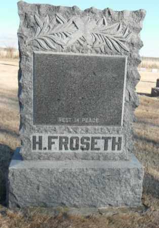 FROSETH, HANS PEDER NIKOLAISEN - Minnehaha County, South Dakota | HANS PEDER NIKOLAISEN FROSETH - South Dakota Gravestone Photos