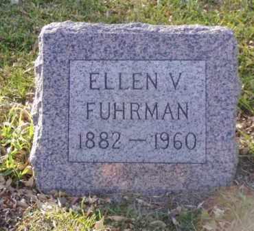 FUHRMAN, ELLEN V. - Minnehaha County, South Dakota | ELLEN V. FUHRMAN - South Dakota Gravestone Photos
