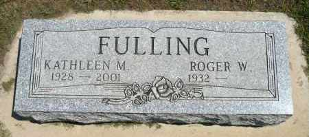 FULLING, KATHLEEN M. - Minnehaha County, South Dakota | KATHLEEN M. FULLING - South Dakota Gravestone Photos