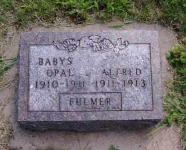 FULMER, OPAL - Minnehaha County, South Dakota | OPAL FULMER - South Dakota Gravestone Photos