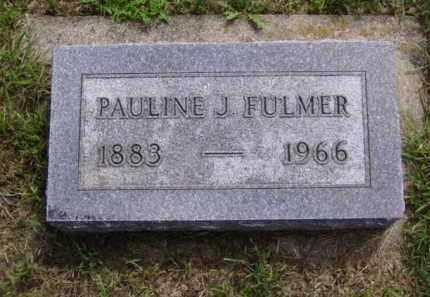FULMER, PAULINE J. - Minnehaha County, South Dakota | PAULINE J. FULMER - South Dakota Gravestone Photos