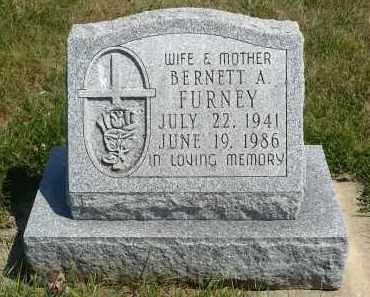 FURNEY, BERNETT A. - Minnehaha County, South Dakota   BERNETT A. FURNEY - South Dakota Gravestone Photos
