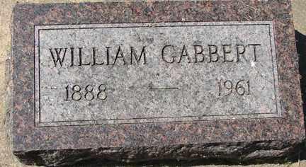 GABBERT, WILLIAM - Minnehaha County, South Dakota | WILLIAM GABBERT - South Dakota Gravestone Photos