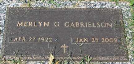 BRURUD GABRIELSON, MERLYN S. - Minnehaha County, South Dakota   MERLYN S. BRURUD GABRIELSON - South Dakota Gravestone Photos