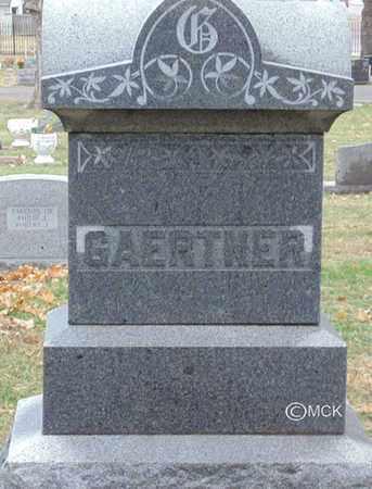 GAERTNER, HEADSTONE - Minnehaha County, South Dakota   HEADSTONE GAERTNER - South Dakota Gravestone Photos